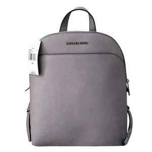 ⬇️ NWT Michael Kors Emmy Leather Lilac Backpack